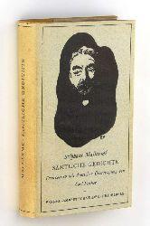Mallarmé, Stéphane:  Sämtliche Gedichte. Französisch mit deutscher Übertragung von Carl Fischer.