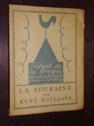 Boylesve, René:  La Touraine. Frontispice de Jean Oberlé.