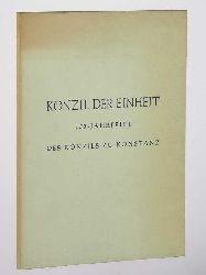Konzil der Einheit. 550-Jahrfeier des Konzils zu Konstanz.