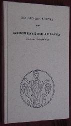 Kirchenväter an Laien. Briefe der Seelenführung. Übertr. von L. v. Welsersheimb. Mit e. Vorw. von Karl Rahner.