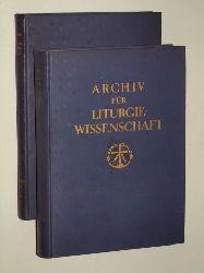 Archiv für Liturgiewissenschaft. Hrsg. von Hilarius Emonds.