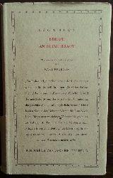 Bloy, Leon:  Briefe an seine Braut.
