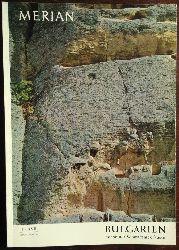 Merian:  Merian-Heft: Bulgarien mit seiner Schwarzmeerküste. Heft 3/XVII.