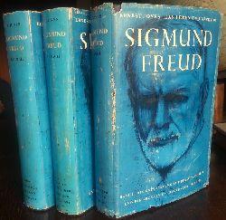 Jones, Ernest:  Das Leben und Werk von Sigmund Freud. Band I - III.