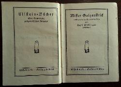 Ettlinger, Karl (Karlchen):  Mister Galgenstrick und andere Humoresken.