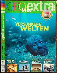 Zeitschrift Geo Extra:  Geo lino Extra. Versunkene Welten (Bernstein - Schatzsuche - Geheimnis - Entdecker).