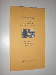 """""""MECKEL, Christoph:""""  """"Sieben Blätter für Monsieur Bernstein. Sept Dessins Pour Monsieur Bernstein. Deutsch / französisch / hebräisch."""""""