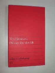LINHARTOVA, Vera:  Diskurs über den Lift.