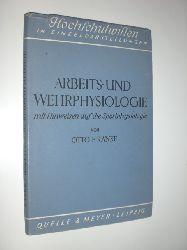 """""""RANKE, Otto F.:""""  """"Arbeits- und Wehrphysiologie mit Hinweisen auf die Sportphysiologie."""""""