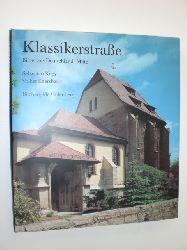 KAPS, Sebastian / EBERSBACH, Volker:  Klassikerstraße. Bilder aus Deutschlands Mitte.