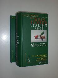 """""""MARONI, Luca - ZWECKER, Hellmuth (Hrsg.):""""  """"Der Weinführer Italien 2001. Mit den Weinen aus dem Tessin. 2 Bände."""""""