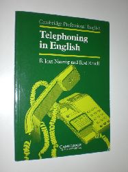 NATEROP, B. Jean / REVELL, Rod:  Telephoning in English.