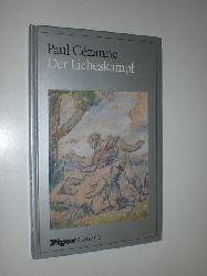 """CEZANNE, Paul:  """"Der Liebeskampf"""". Aspekte zum Frühwerk Cezannes von Götz Adriani."""