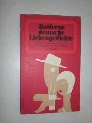 BRAMBACH, Rainer (Hrsg.):  Moderne deutsche Liebesgedichte. Von Stefan George bis zur Gegenwart.