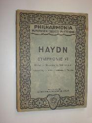 """""""HAYDN, Joseph:""""  """"Symphonie VI. G Dur / G major / Sol majeur. Paukenschlag / The Surprise / Battement de Timbales. (= Kritische Ausgabe sämtlicher Symphonien No. 26)."""""""