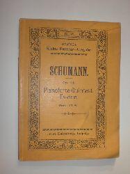 SCHUMANN, Robert:  Quintett Es-dur für Pianoforte, 2 Violinen, Viola und Violoncell. Opus 44. (= Payne