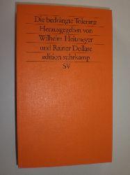 HEITMEYER, Wilhelm und DOLLASE, Rainer (Hrsg.):  Die bedrängte Toleranz. Ethnisch-kulturelle Konflikte, religiöse Differenzen und die Gefahren politisierter Gewalt.