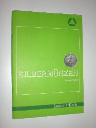 DRESDNER BANK (Hrsg.):  Silbermünzen Herbst 1984. Dresdner Bank.