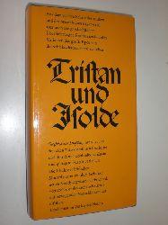 GOTTFRIED VON STRASSBURG:  Trustan und Isolde. Aus dem Mitelhochdeutschen übertragen und erläutert von Günter Kramer. Mit zwanzig Holzschnitten von Maria Hiszpanska-Neumann.