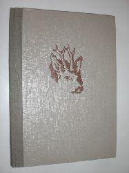 LÖNS, Hermann:  Im Wald und auf der Heide. Tiernovellen von Hermann Löns mit 138 Fotos auf Kupfertiefdrucktafeln von Hermann Fischer, Braunschweig.