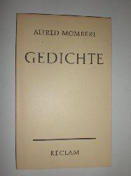 MOMBERT, Alfred:  Gedichte. Auswahl und Nachwort von Elisabeth Höpker-Herberg.