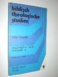 BEYERLIN, Walter:  Weisheitlich-kultische Heilsordnung. Studien zum 15. Psalm.