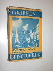 GRIEBEN REISEFÜHRER: Oberitalien.  Oberitalien und Florenz. Kleine Ausgabe. Mit 21 Karten, 2 Grundrisse und BildBilderanhang.