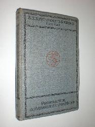 QUIRÓS, C. Bernaldo / AGUILANIEDO, J. M. L.:  Verbrechertum und Prostitution in Madrid. Mit einem Vorwort von Professor Cesare Lombroso.