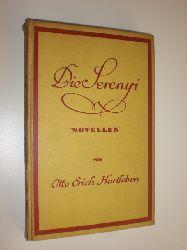 """""""HARTLEBEN, Erich Otto:""""  """"Die Serenyi und andere Novellen."""""""