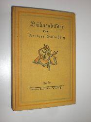 EULENBERG, Herbert:  Bühnenbilder.