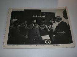 KALINOWSKI, H. E.:  Druckgraphik 1961-1971 - Oeuvres graphiques 1961-1971 - Prints 1961-1971.