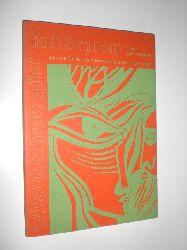 BERGMANN, Rudi:  Auf daß du es immer spürst. Zehn Variationen auf Pablo Nerudas Liebesgedicht Fawell. Mit Grafik von Jörg Scherkamp.