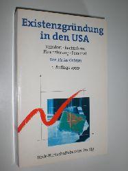 GRIMM, Heike:  Existenzgründung iin den USA. Standort - Rechtsform - Finanzierung - Personal.