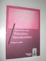 """EHMANN, Hermann:""  ""Materialien. Menschenbilder. Sekundarstufe II."""