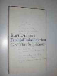 DRAWERT, Kurt:  Frühjahrskollektion. Gedichte.