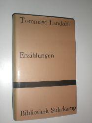 LANDOLFI, Tommaso:  Erzählungen. Ausgewählt aus den Racconti. Deutsch von Charlotte Jenny.