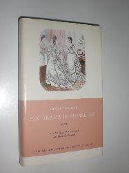 MOORE, George:  Ein Drama in Musselin. Roman. Aus dem Englischen übersetzt von Elisabeth Schnack. Nachwort von Max Wildi.