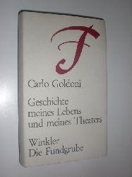"""""""GOLDONI, Carlo:""""  """"Geschichte meines Lebens und meines Theaters. In er Übersetzung von G. Schaz. Mit einem Nachwort und einer Zeittafel von Heinz Dietrich Kenter."""""""
