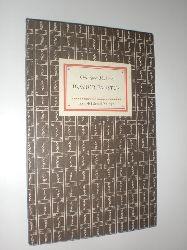 IB 292 (2) MARLOWE, Christopher:  Die tragische Historie vom Doktor Faustus. Deutsche Fassung nach dem ersten englischen Druck von 1604 von Adolf Seebaß.
