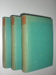 ARNIM, Achim von / BRENTANO, Clemens:  Des Knaben Wunderhorn. Alte deutsche Lieder. Herausgegeben von Oskar Weitzmann. 3 Bände (alles).