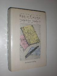 FLAIANO, Ennio:  Nächtliches Tagebuch und andere Texte. Aus dem Italienischen von Susanne Hurni.