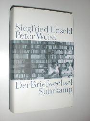 UNSELD, Siegfried - WEISS, Peter:  Der Briefwechsel. Herausgegeben von Rainer Gerlach.