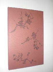 """""""BROCKES, Barthold Hinrich - CANHAM, Anthony:""""  """"Kirschblüte bei der Nacht. Fünf ausgewählte Gedichte von Barthold Hinrich Brockes. Mit 10 Original-Lithographien von Anthony Canham."""""""