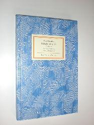 IB 1320 FLEMING, Paul:  Ich habe satt gelebt. Gedichte. Herausgegeben und mit einem Nachwort von Thomas Rosenlöcher.