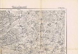Karte des Deutschen Reiches, 207: Ottersberg. Umdruckausgabe.