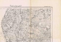 Karte des Deutschen Reiches, Karte 143: Bremerhaven. Umdruckausgabe.