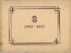 Zentralverband der Maschinisten und Heizer sowie Berufsgenossen Deutschlands. 1892-1927.