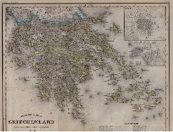 (Meyer, Joseph):  Neueste Karte von Griechenland.  Aus Meyer
