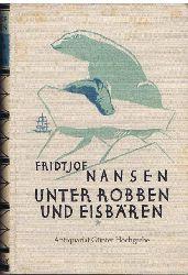 Nansen, Fridtjof:  Unter Robben und Eisbären. Meine ersten Erlebnisse im Eismeer. Originaltitel: Blant sel og Bjorn.