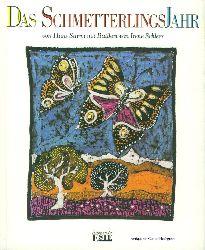 Sturm, Hans und Irene Schleer:  Das Schmetterlingsjahr von Hans Sturm mit Batiken von Irene Schleer.
